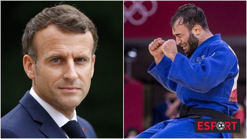 საფრანგეთის პრეზიდენტი ქართველი სპორტსმენით აღფრთოვანებულია - რა განცხადა მაკრონმა ?